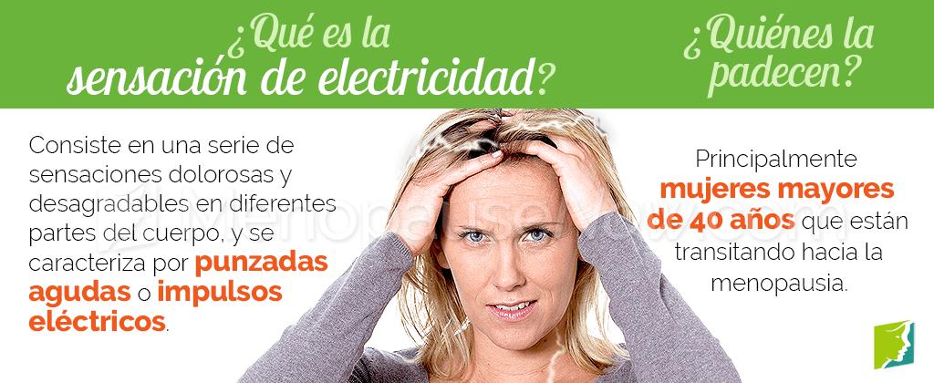Qué es la sensación de electricidad