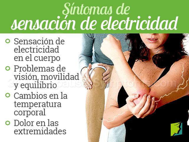 Síntomas de sensación de electricidad