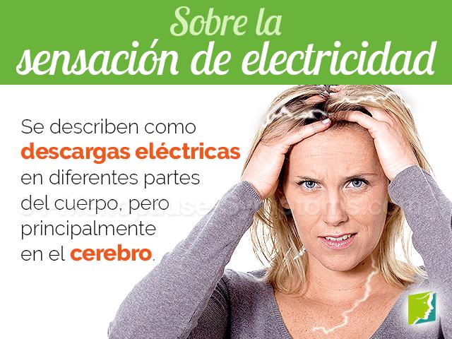 Sobre la sensación de electricidad