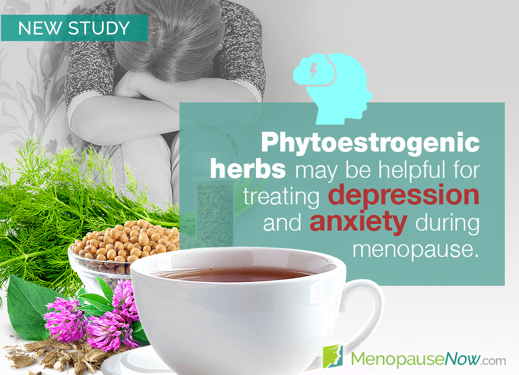 Study: Benefits of phytoestrogens on menopausal depression and anxiety