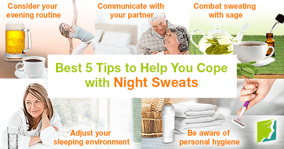 Best 5 Tips to Help You Cope with Night Sweats
