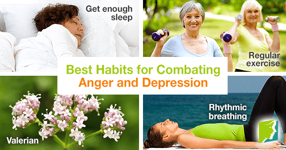Best Habits for Combating Anger and Depression