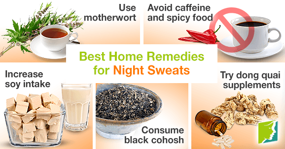 Best Home Remedies for Night Sweats