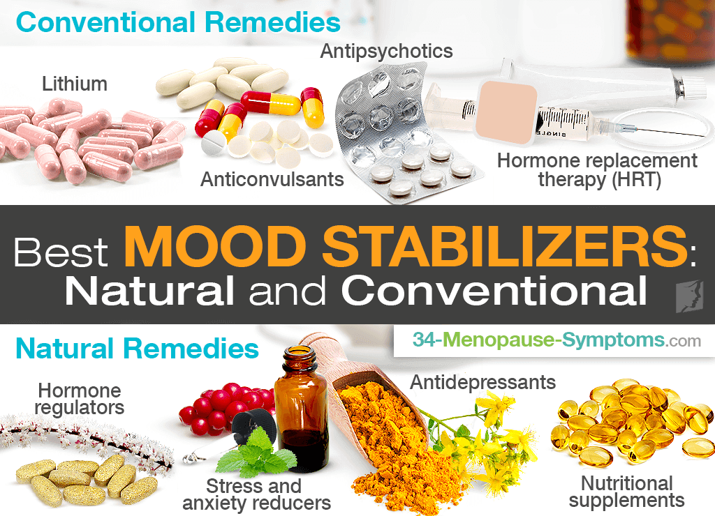 Best Mood Stabilizers: Natural and Conventional