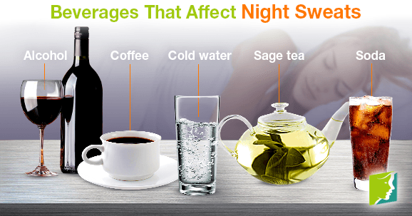 Beverages That Affect Night Sweats