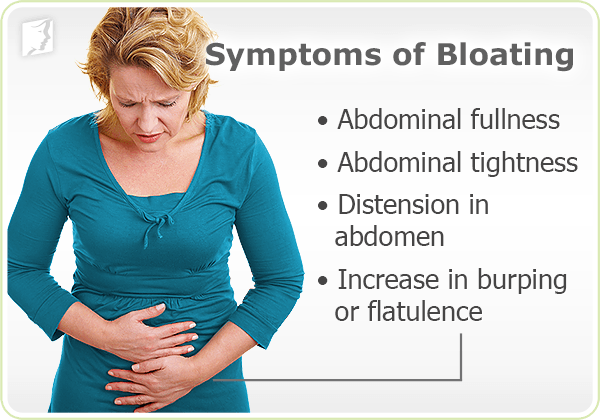 Symptoms of Bloating