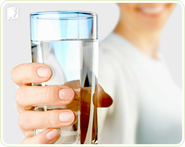 drink lots of fluids to fight breast tenderness during pms