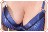 Breast tenderness and swelling: enlargement of both or one of the breasts