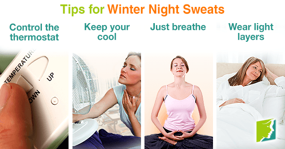 Tips for Winter night sweats