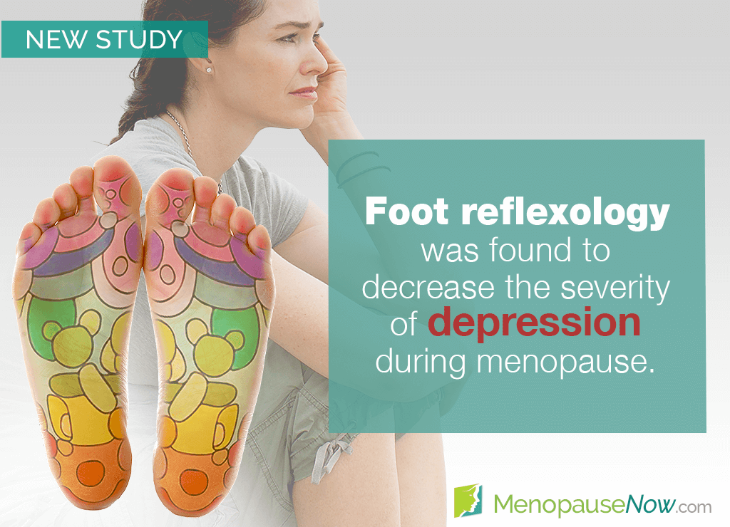 Study: Foot reflexology beneficial for menopausal depression