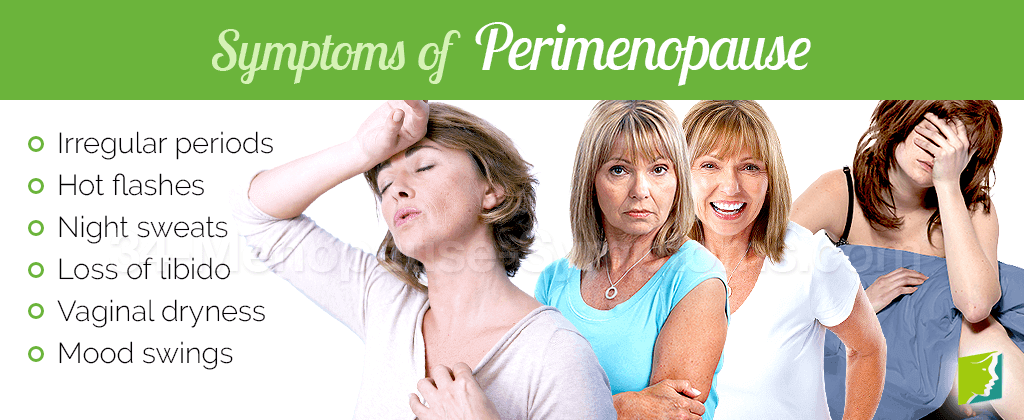 Symptoms of perimenopause