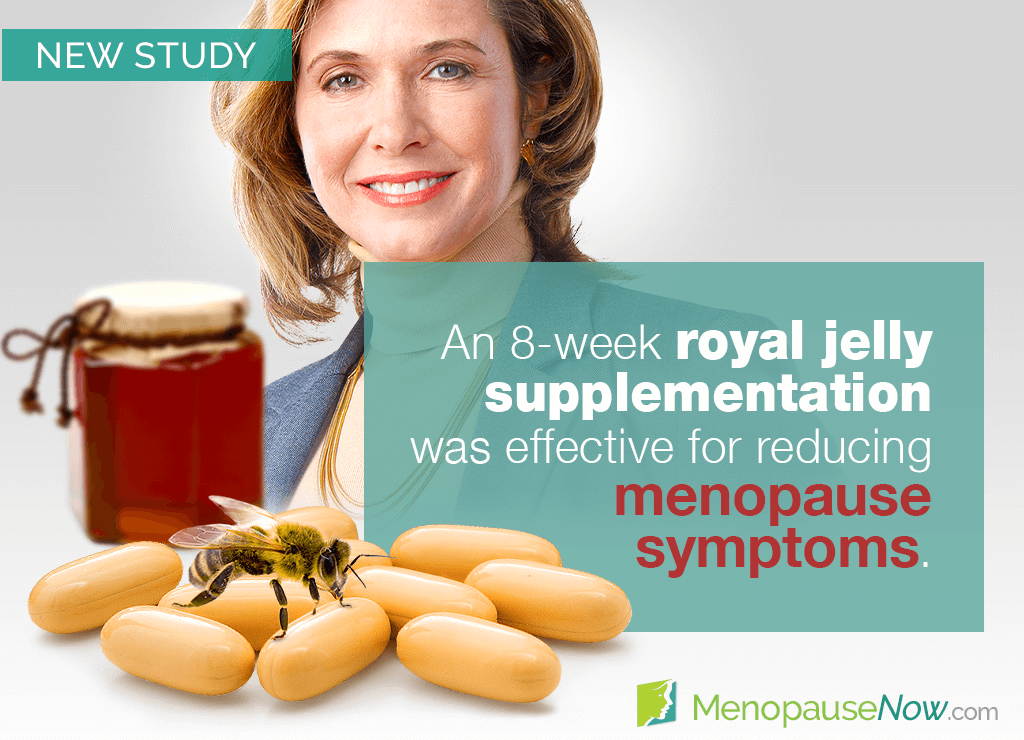 Study: The effects of consuming royal jelly on symptoms of menopause