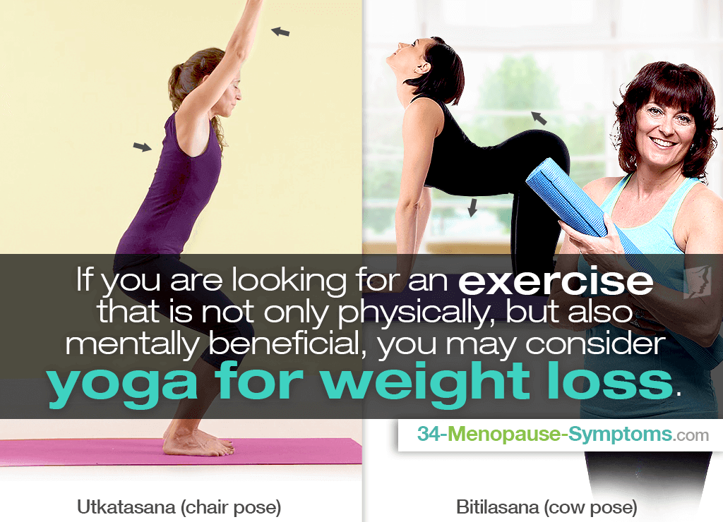 yoga for menopause weight gain
