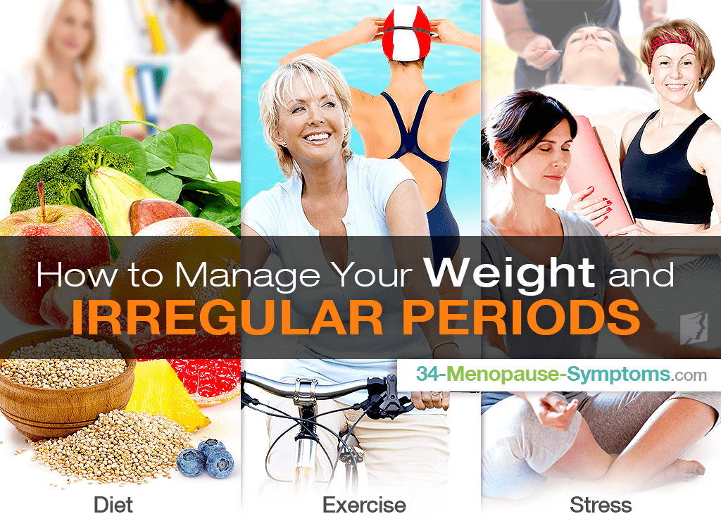 How to Manage Your Weight and Irregular Periods
