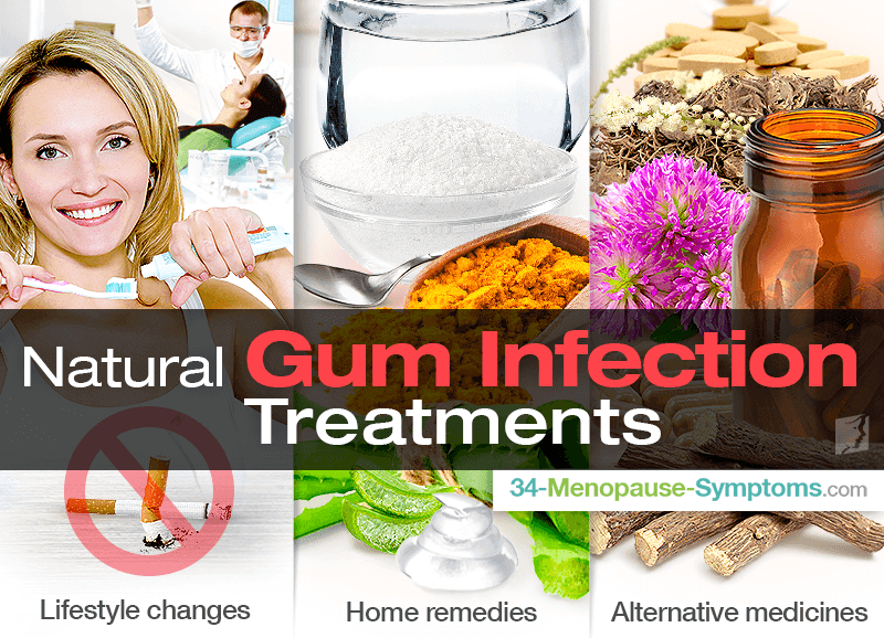 Gum infection treatment