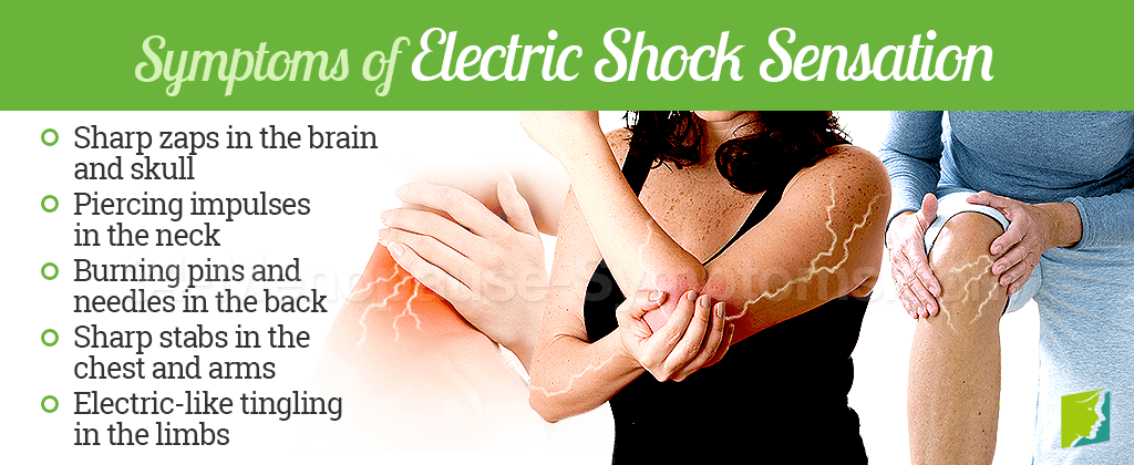 Symptoms of electric shock sensation