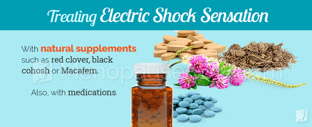 Treating electric shock sensation