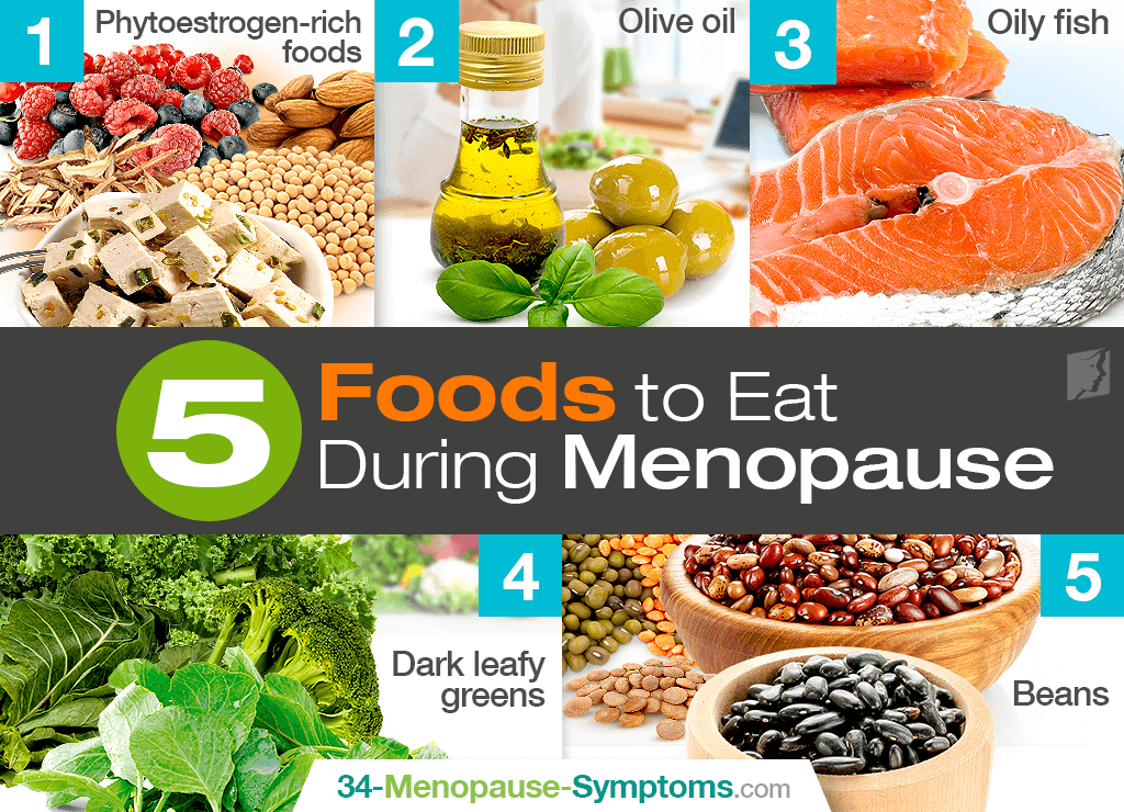 Foods to eat during menopause