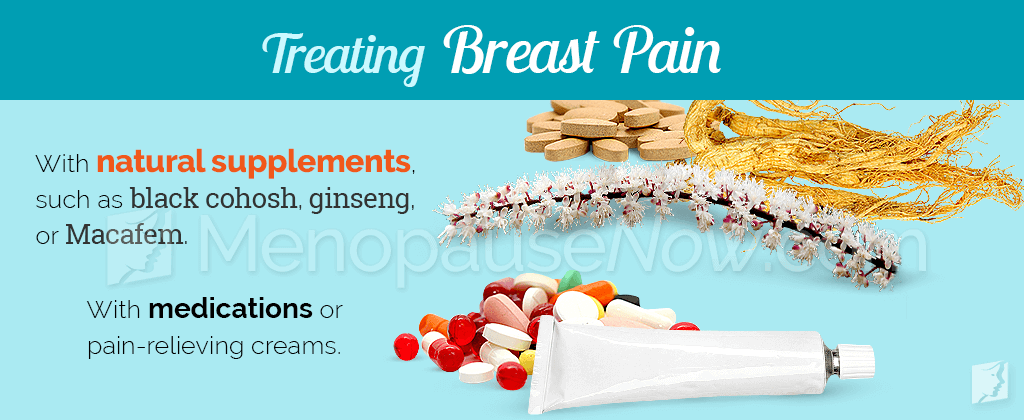 Treating breast pain