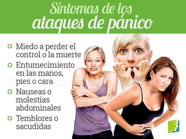 Síntomas de los ataques de pánico