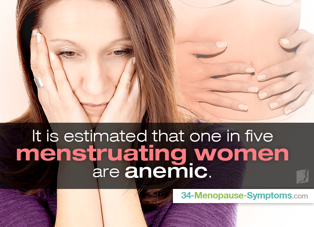 Anemia is a common blood disorder, it can cause a number of symptoms, including irregular periods