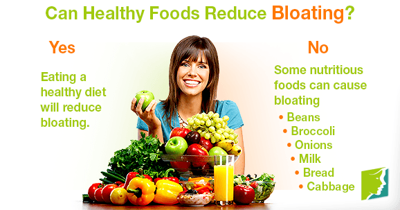 Can Healthy Foods Reduce Bloating?