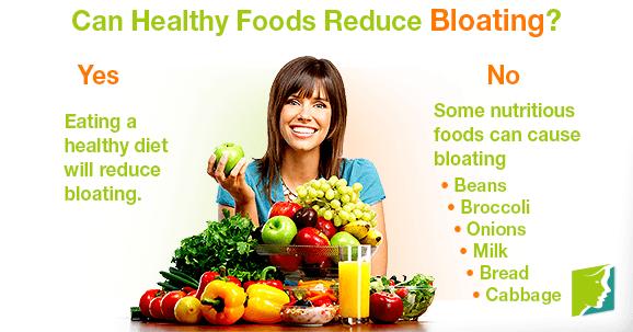 Bloating after eating vegetables
