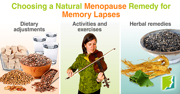 Choosing a Natural Menopause Remedy for Memory Lapses