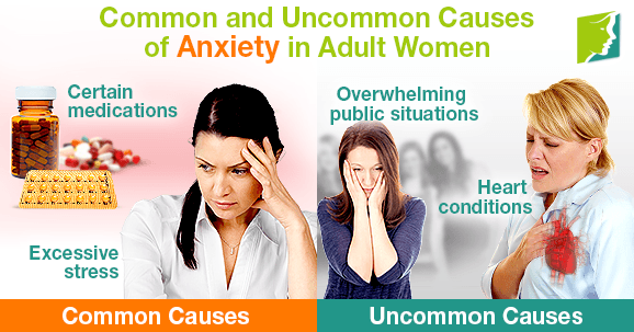 Common and Uncommon Causes of Anxiety in Adult Women
