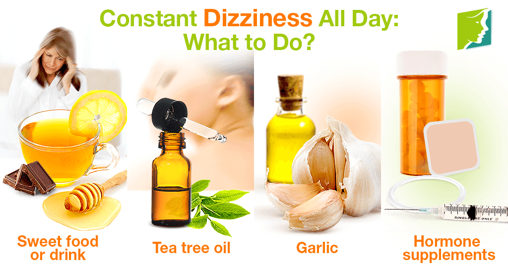 Constant Dizziness All Day: What to do?