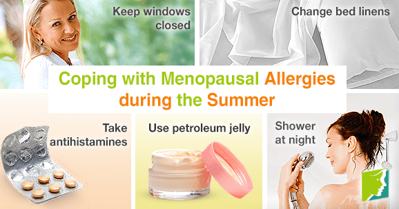 Coping with Menopausal Allergies during the Summer
