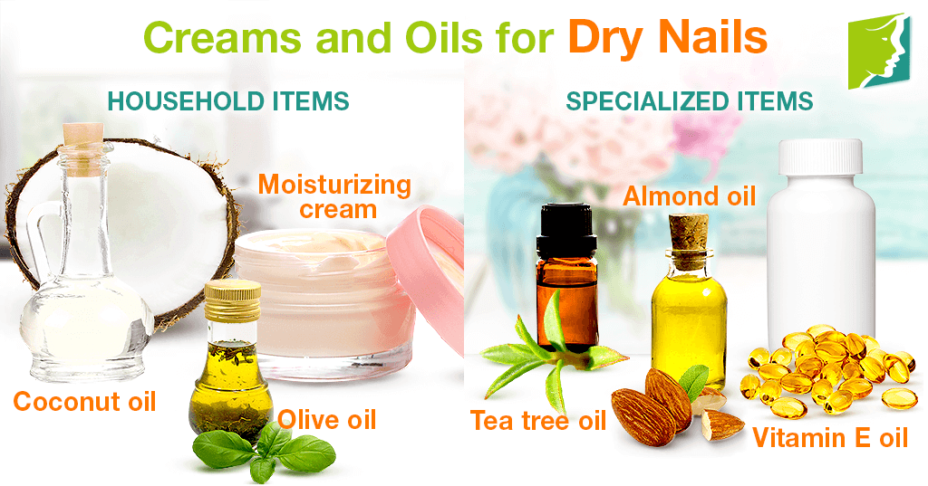 Creams and Oils for Dry Nails