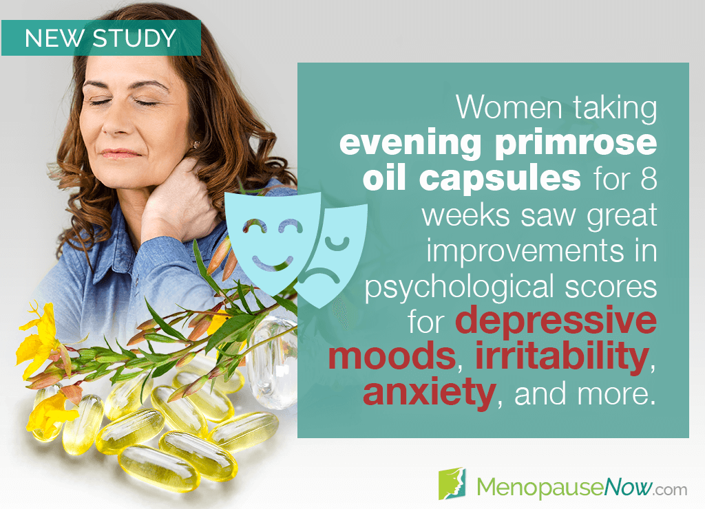 Study: Evening primrose oil for osychological postmenopause symptoms