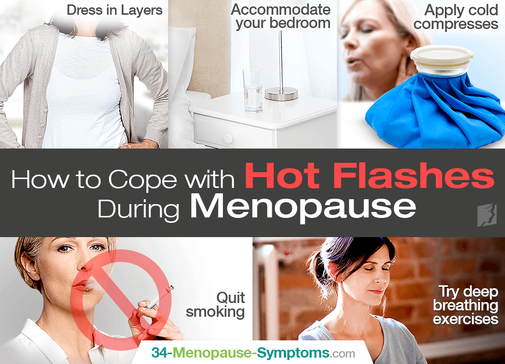 how to cope with hot flashes during menopause