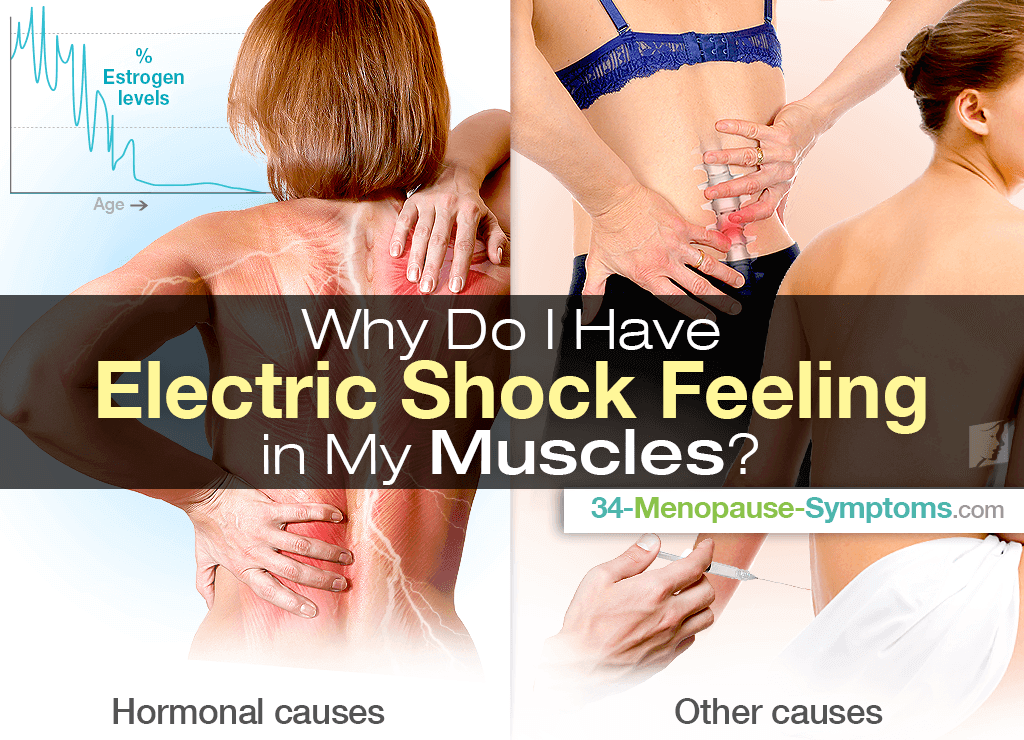 electric shock feeling in leg muscle