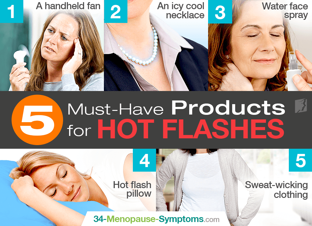5 Must-Have Products for Hot Flashes