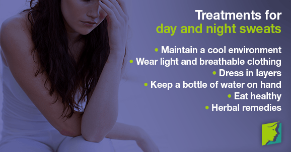 Treatments for day and night sweats