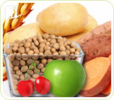 Soy, apples, cherries, potatoes, wheat and yams: foods that promote estrogen production