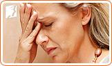 A woman may suffer from a number of symptoms during menopause.