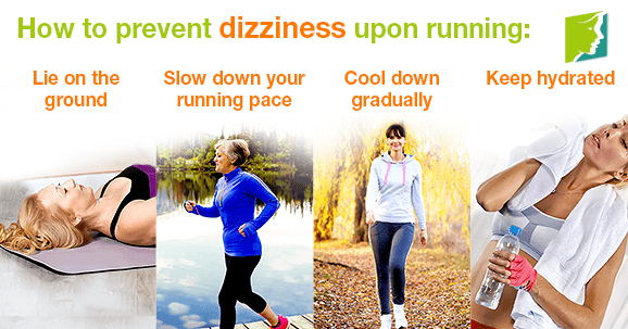 How to prevent dizziness upon running