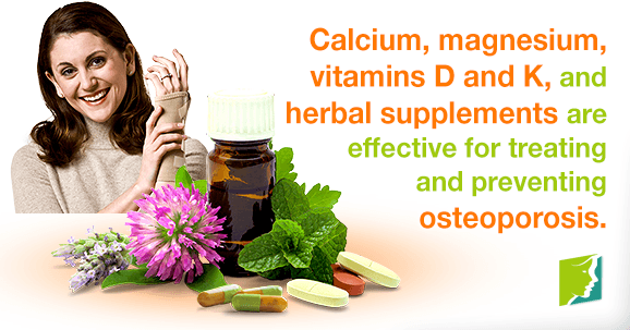 Do Vitamins and Supplements Help Treat Osteoporosis?