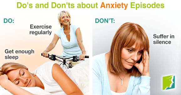 Do's and Don'ts about Anxiety Episodes