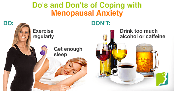 Do's and Don'ts of Coping with Menopausal Anxiety