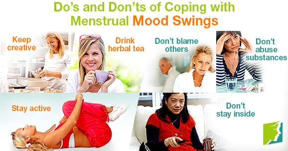 Do's and Don'ts of Coping with Menstrual Mood Swings