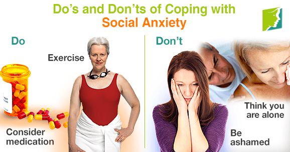 Do's and Don'ts of Coping with Social Anxiety