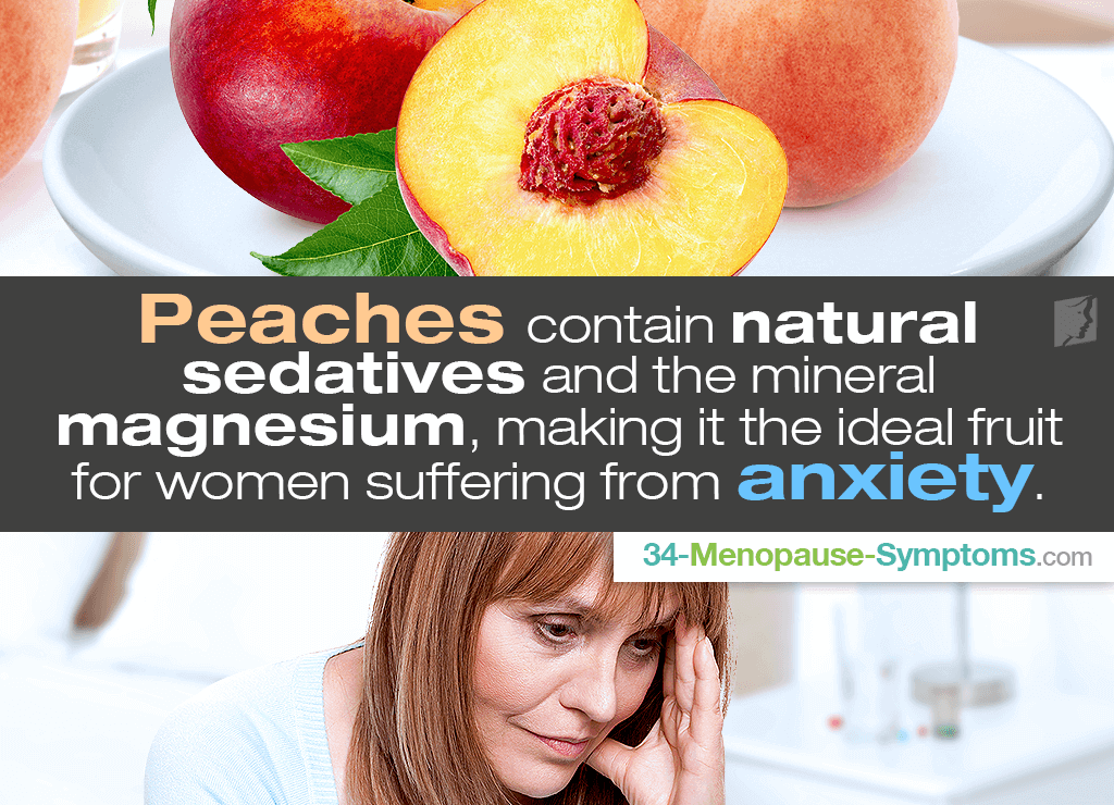 peaches for anxiety