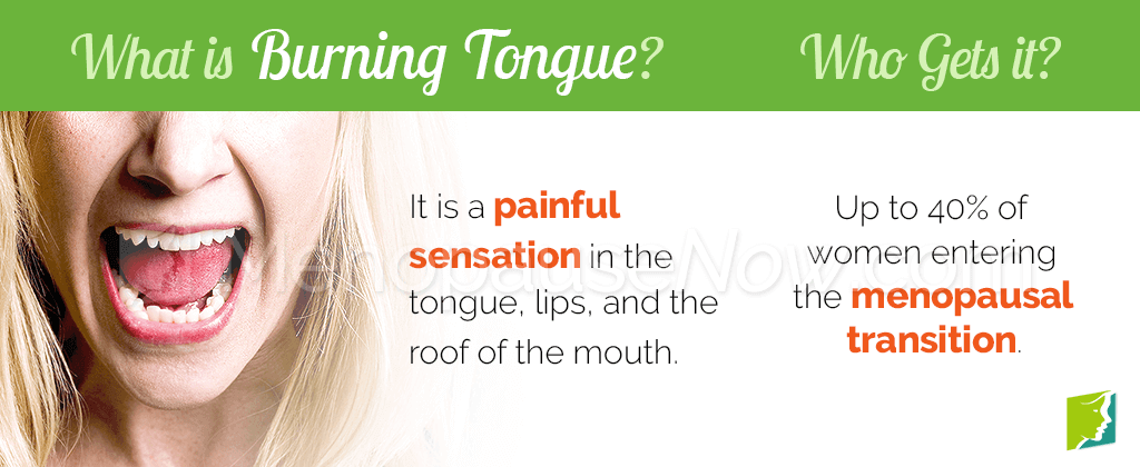 What is burning tongue?