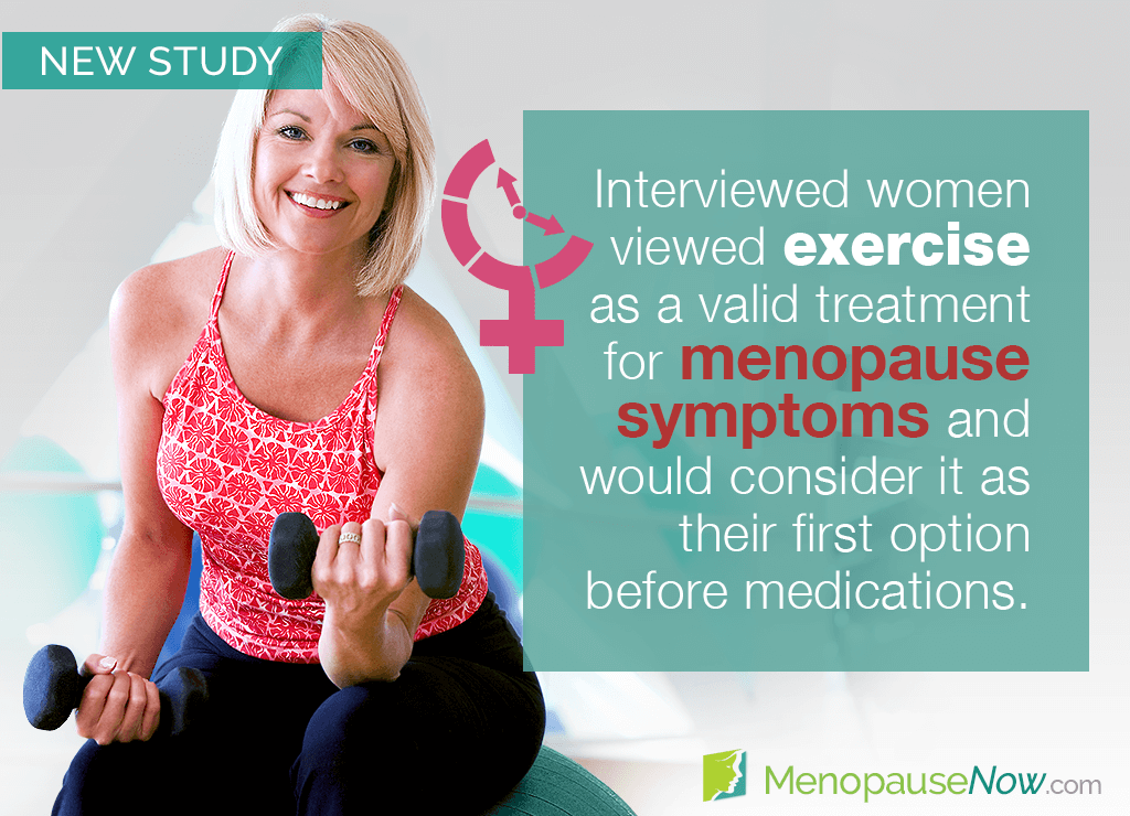 Study: Menopausal women's views of exercise for symptom relief