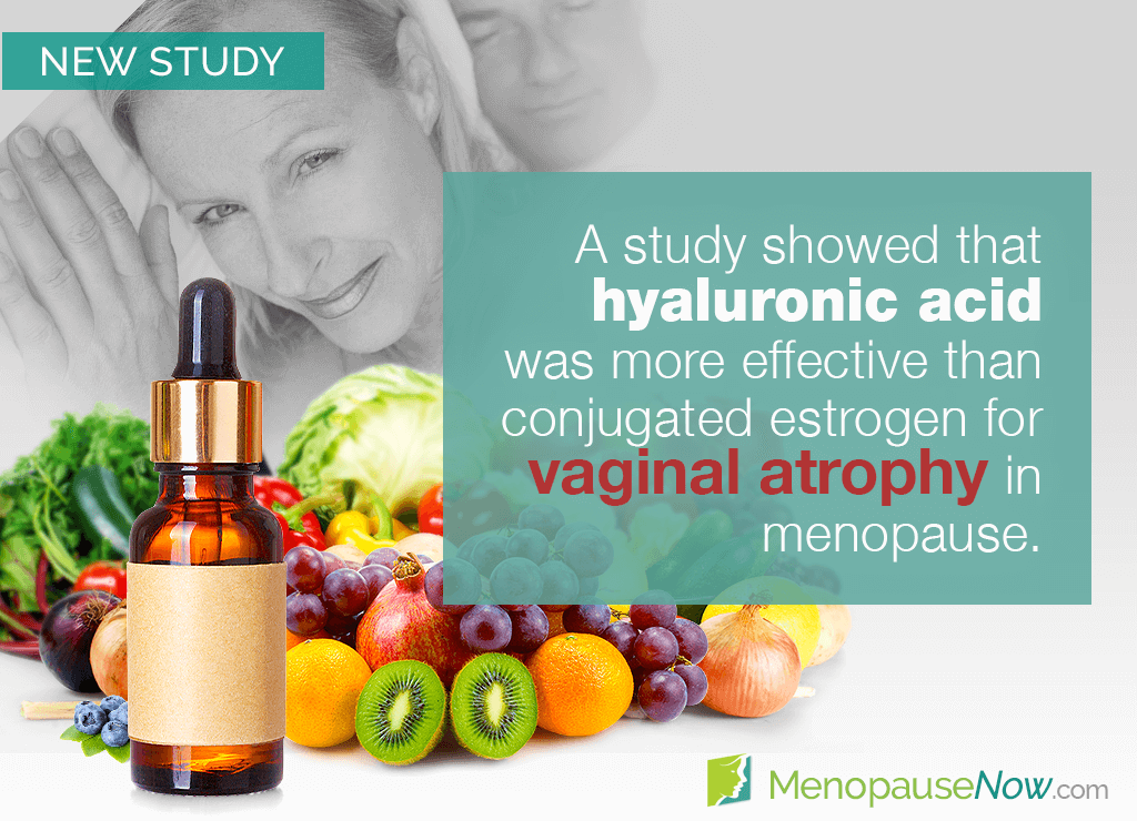 Study: Vaginal atrophy can be improved with hyaluronic acid