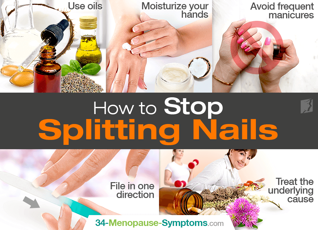 How to Stop Splitting Nails | Menopause Now